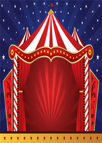 Circus Decor Tapestry Wall Hanging Theme Backdrops Bedroom Room Dorm  PartyDecor