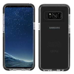 uk availability f7cbc e2cf0 Details about Gear4 Piccadilly Case for Samsung Galaxy S8 with D30 Impact  Protection - Black