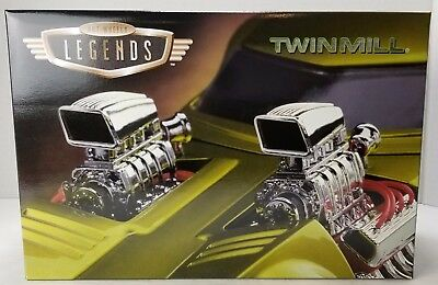 NEW IN BOX HOT WHEELS LEGENDS TWIN MILL SET OF 2 COLLECTORS EDITION 1/24 & 1/64