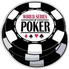 "Poker Chips Texas Hold'em Car Bumper Window Sticker Decal 4.5""X4.5"""