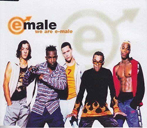 E-Male | Single-CD | We are e-male (1997)
