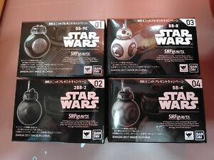 FIGUARTS droid set of 2  BB-9E BB-4 Bandai Star Wars Premium S.H