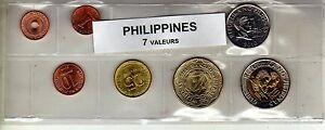 Philippines Série De 7 Pièces De Monnaie