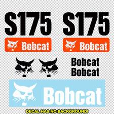 Bobcat S175 Skid Steer Set Vinyl Decal Sticker Aftermarket