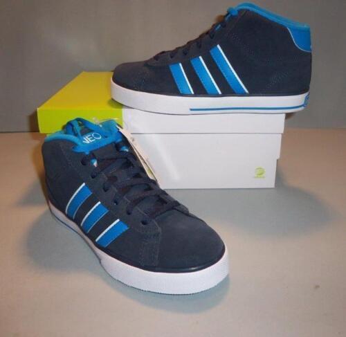 ADIDAS Boy/'s Youth Blue Se Daily Vulc Mid Skate Shoes SIZES NIB NEW Q16152