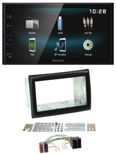 Kenwood aux Bluetooth USB mp3 2din autoradio para Renault Megane 2002-2008