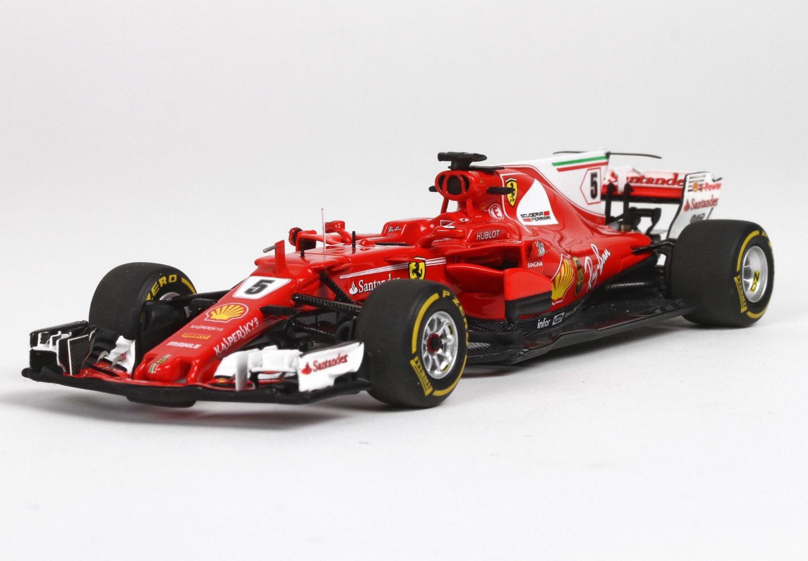 BBR BBRC211A  Ferrari SF70H Vainqueur  GP F1 Brasil 2017 Vettel 143