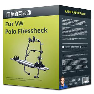 2 Räder  PKW Menabo Fahrradträger Stand Up 2 für VW Polo Fliessheck Typ 6R//6C