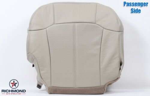 2002 Escalade PASSENGER Bottom PERFORATED Replacement Leather Seat Cover TAN