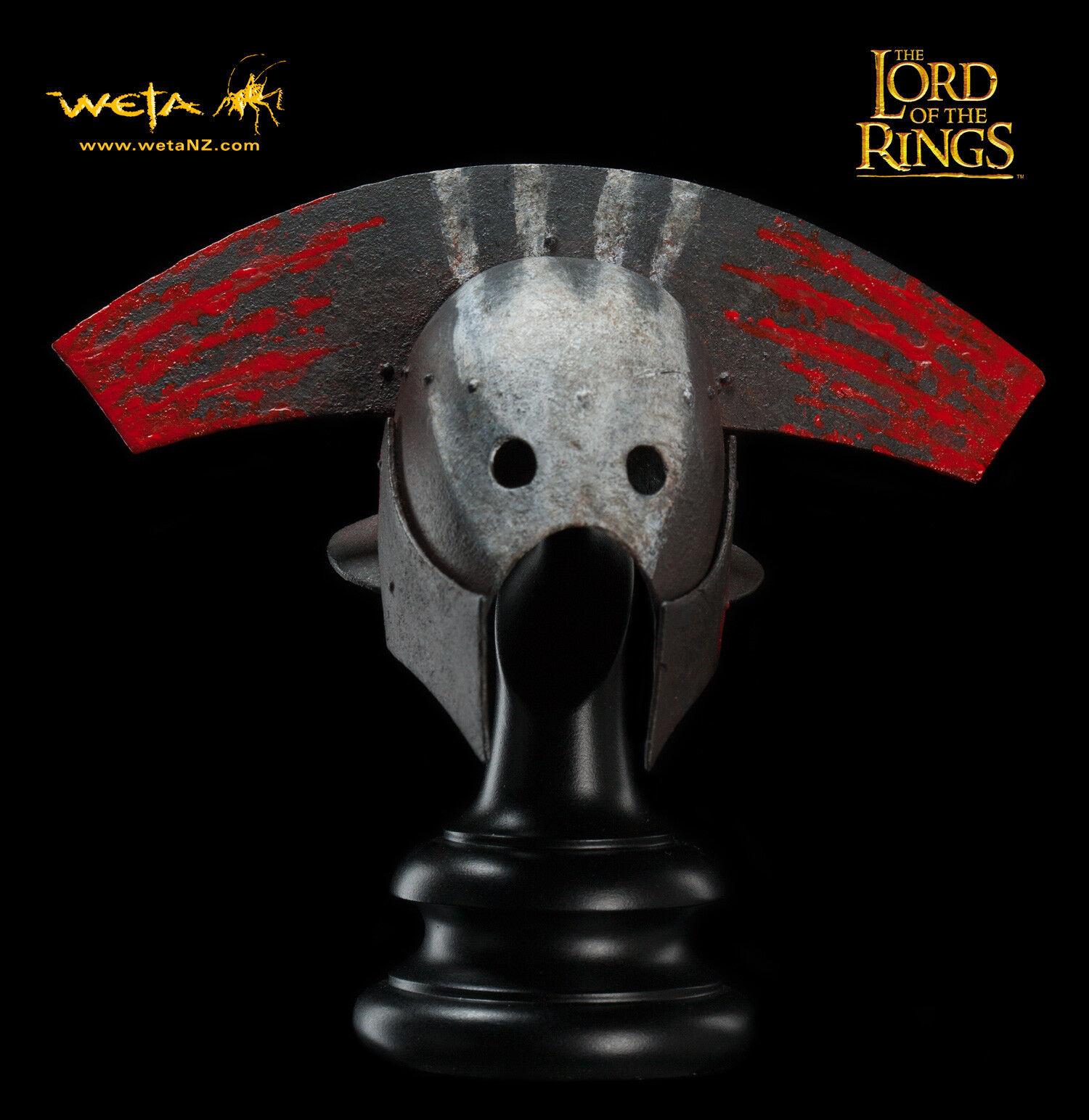 Sideshow Weta LOTR Uruk-Hai  General's Helm