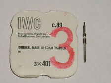 IWC winding stem 88 89 thread 0.90 tige de remontoir Aufzugswelle original part