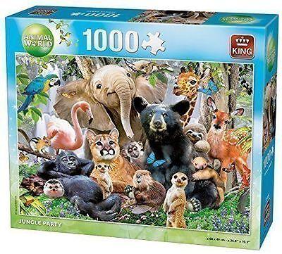 1000 Piece Jigsaw Puzzle Tropical Animals /& Birds Wonders Of The Wild 05482