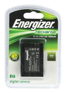 Energizer Canon LP-E6 Reemplazo De La Batería Li-Ion recheargeable Cámara