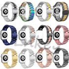 New Stainless Steel Wrist Bracelet Clasp For Apple Watch Band iWatch 38/42mm