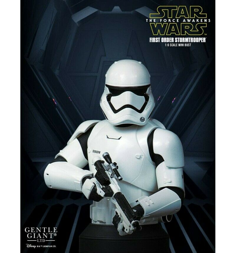 Star Wars Episode VII buste 1 6 First Order Stormtrooper Deluxe 16 cm