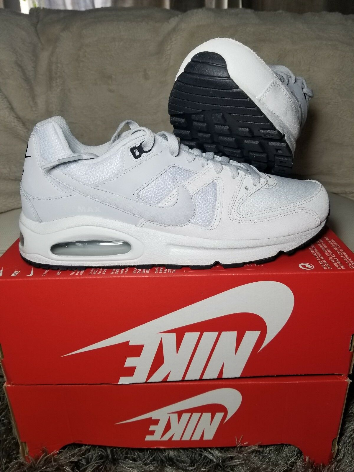 Nike Nike Nike Air Max Command 629993-102 Classic Lifestyle Casual shoes Trainers white f7ed79