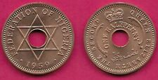 6 Available 1959 Nigeria 1//2 Penny High Grade 1 Coin Only Beautiful!