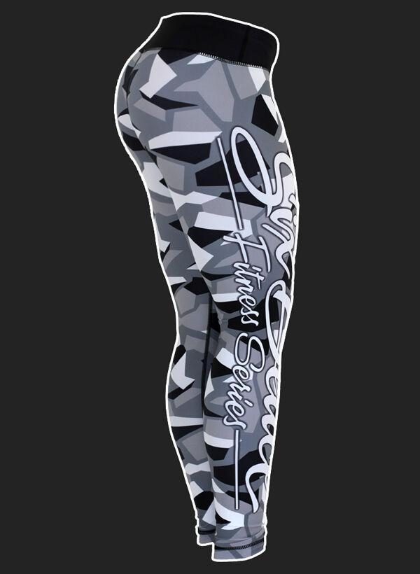 Six Deuce Camo Fitness Leggings grey Original aus den USA