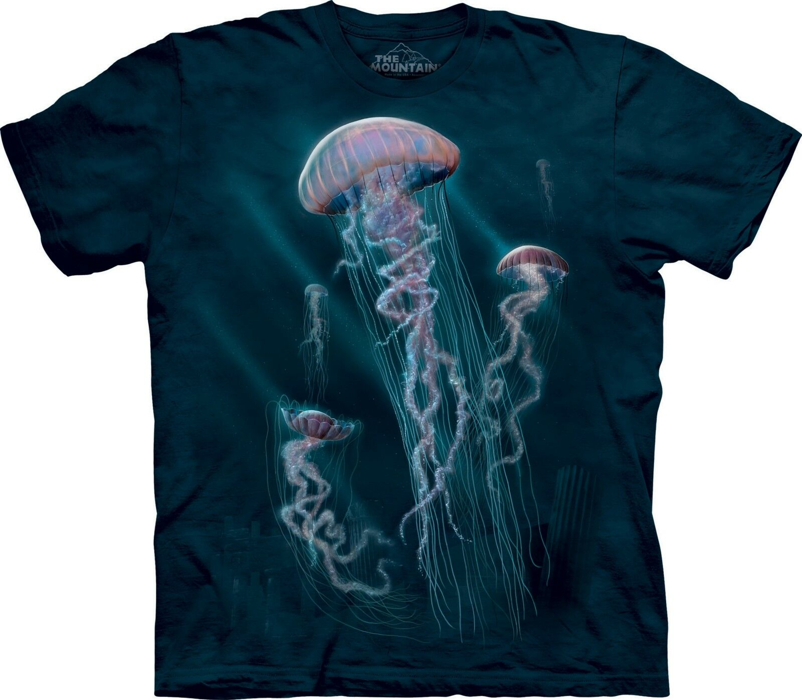 Jellyfish Aquatic Shirt Adult Unisex The Mountain