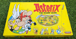 VINTAGE-1990-BOARD-GAME-Asterix-By-Spears-Games-Boxed-amp-Complete
