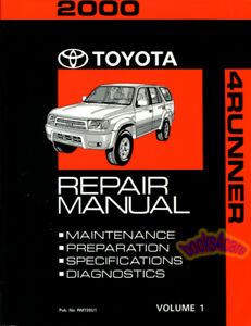 SHOP-MANUAL-4RUNNER-SERVICE-REPAIR-2000-TOYOTA-BOOK