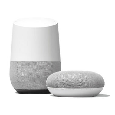 Google Home Smart Assistant Wireless Speaker + Home Mini