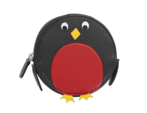 Mala Leather Animal Design Round Leather Coin Purse 4155/_11
