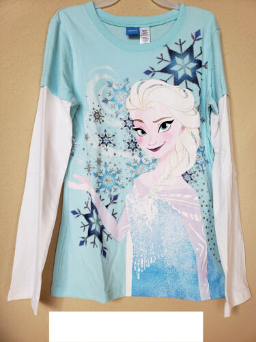 *NWT- DISNEY GIRL/'S GRAPHIC T-SHIRT XL SIZE: S LONG SLEEVES LICENSED