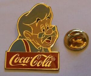 Disney-1986-Coca-Cola-GEPPETTO-PINOCCHIO-pin-badge