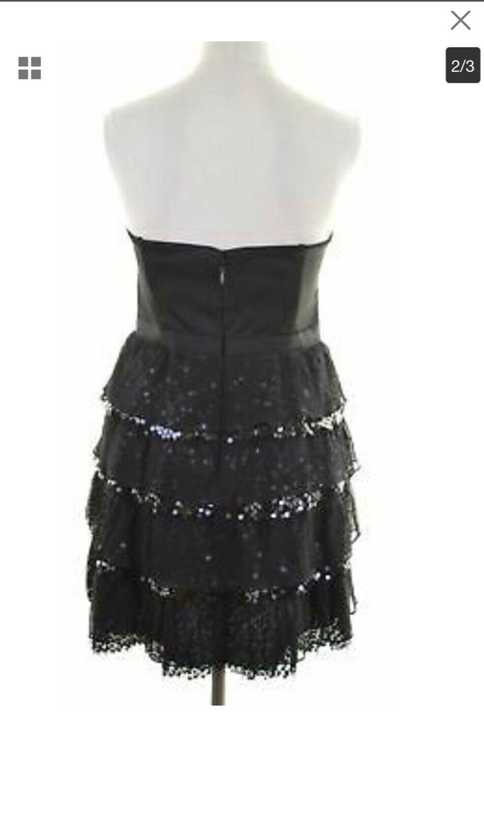 Bcbg max azria kleid.schwarz.gr. 38 M Neu NP 380 Party cocteil dress