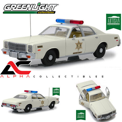 verdeLIGHT 19055 1 18 1977 PLYMOUTH FURY DUKES OF HAZZARD COUNTY SHERIFF