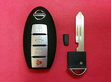 OEM  NISSAN Smart Key Uncut Key with Transponder Chip CWTWBU735