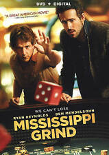 Mississippi Grind (DVD, 2015)  LN Disc and Cover Art - NO CASE  -WITH DIGITAL UV
