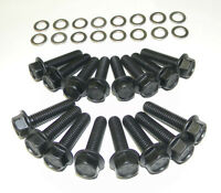 Ford Galaxie Fe 390 - 428 Stock Exhaust Manifold Bolts Grade 8 Black Oxide