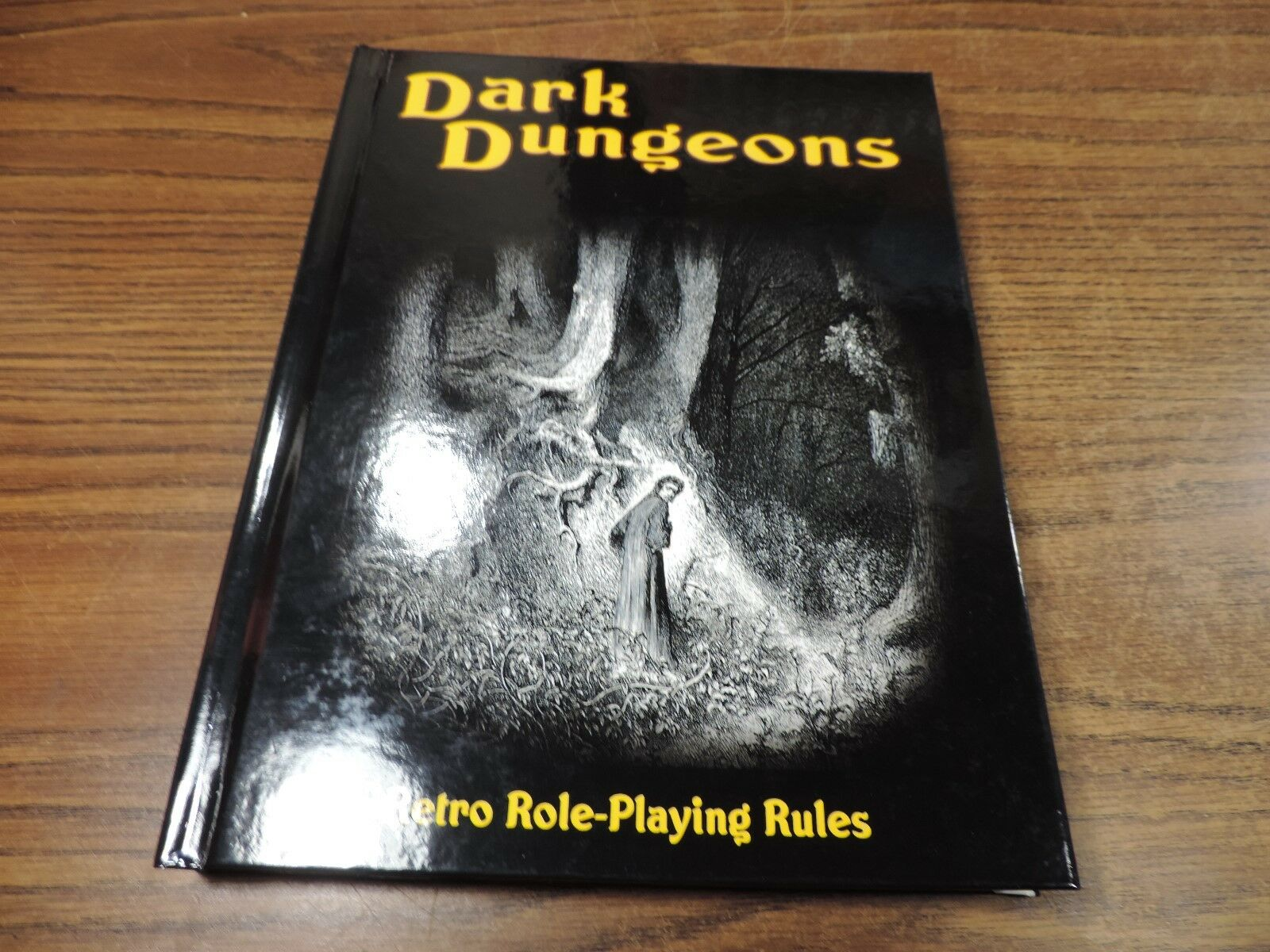 Dark Dungeons RPG Retro Role-Playing Rules Core Rulebook HC