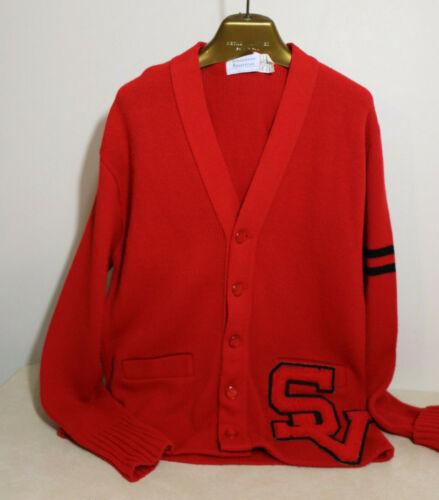 Varsity Letter Letterman Sweater High School Colle
