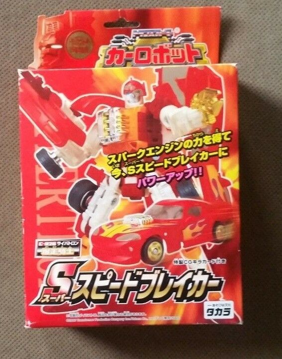 Transformers Robots in Disguise Car Figure C-026 Red Viper Super Speedbreaker