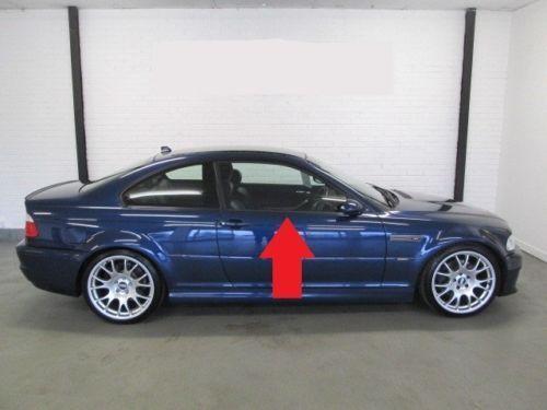 New Genuine BMW 3 Series Matte Black Trim Right Front Door 8227626 OEM