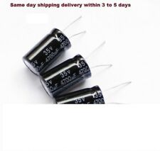 50pc Electrolytic Capacitor GHA 10000uF 35V 105℃ 2000hrs φ22x43mm Axial RoHS SC