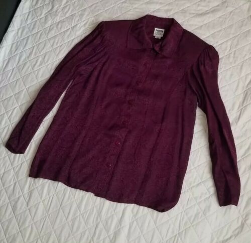JEANNE MARC COLLECTION Vintage 80s Small Purple Bu