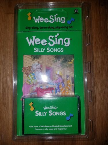 Wee Sing Silly Songs 1982 Cassette and Book Music Sealed Vintage Childrens New