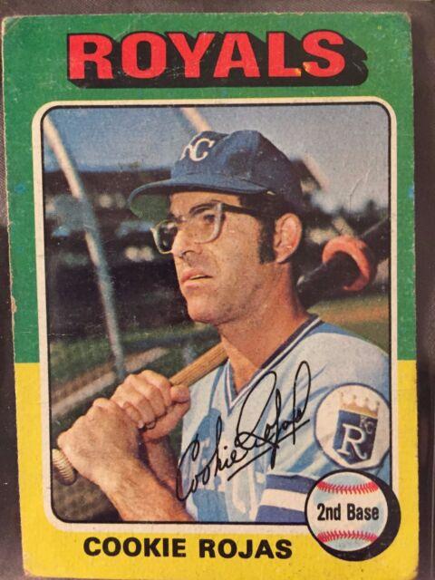 1975 Topps Cookie Rojas Kansas City Royals 169 Baseball Card