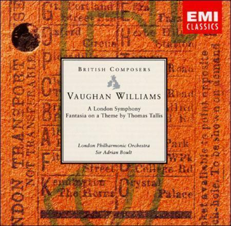 Vaughan Williams A London Symphony Fantasia On A Theme By Thomas Tallis Cd Aug 1991 Emi Music Distribution For Sale Online Ebay