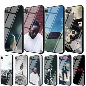 Kendrick-Lamar-TPU-Glass-Case-for-iPhone-8-7-6-6S-Plus-5-X-XS-Max-XR-11-Pro-Max
