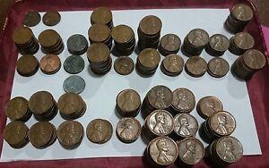 Lincoln Cent Estados Unidos 1 Centavo Usa Ee.uu. Fechas 1909-1958 A Elegir P D Awm2hwzf-08003709-386011608