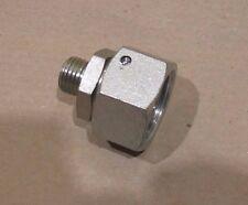 M26 Metric x m14 MALE  straight hydraulic adaptor fitting steel