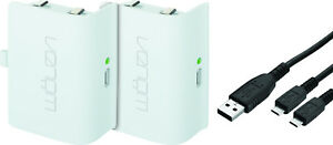 Venom-Xbox-One-Rechargeable-Battery-Twin-Pack-White-VS2860