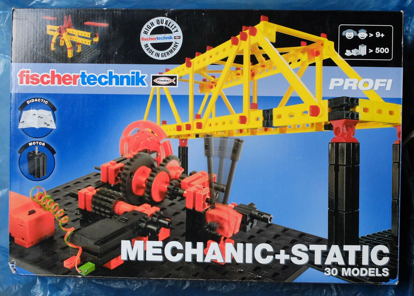 Fischer - Technik, Bau- und Konstruktionsset  Mechanik + Statik