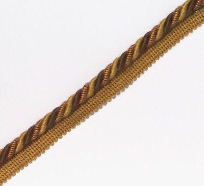Cooperativa Legatura Flangiato/tubazioni 8 Mm Cavo, Oro/verde/rosso X 2, 5, 10 Metri, - Pl-4242-mostra Il Titolo Originale