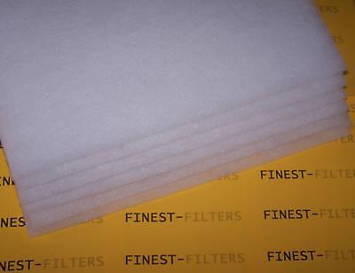 Consegna Veloce Confezione Da 6 Filtro Fai Da Te Lana Fogli Acquario Filtro Laghetto- Un Arricchimento E Nutriente Per Il Fegato E Il Rene